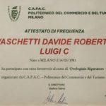 Attestatato Davide Vaschetti